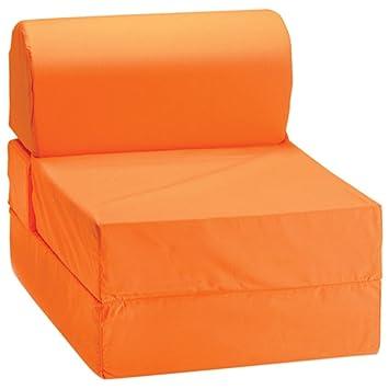 Brilliant Comfy Kids Kids Flip Chair Orange Lamtechconsult Wood Chair Design Ideas Lamtechconsultcom