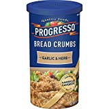 Progresso Garlic & Herb Bread Crumbs 15 oz. Canister