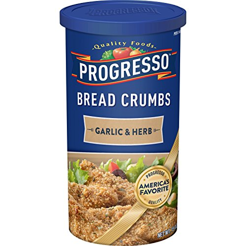(Progresso Garlic & Herb Bread Crumbs 15 oz. Canister)
