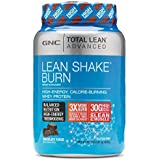 GNC Advanced Lean Shake Burn Protein Powder, Chocolate, 1.64 Pound