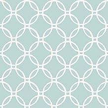 WallPops NU1654 Blue Links Peel and Stick Wallpaper