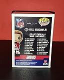 ODELL BECKHAM JR. - Autographed Signed FUNKO POP 55 figure - NFL FOOTBALL GIANTSCOA Proof