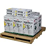 Dow Froth Pak 620, 4 Spray Sealant Kits, Closed Cell Foam, Covers 2480 sq ft
