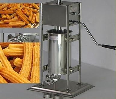 Máquina de churros española manual para uso comercial y profesional con capacidad para 2 l; herramienta para cocina y repostería: Amazon.es: Industria, ...