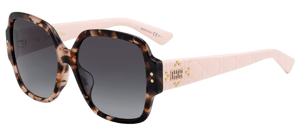 Lunettes de Soleil Dior LADY DIOR STUDS 5 HAVANA PINK GREY SHADED femme   Amazon.fr  Montres f8cdade57440
