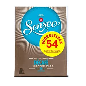 senseo decaffeinated coffee pods 54 count pods grocery gourmet food. Black Bedroom Furniture Sets. Home Design Ideas