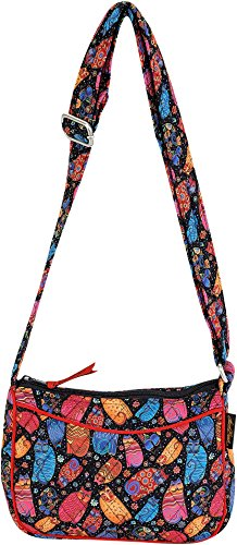 Bag Multi Crossbody Feline W E Cotton Burch Quilted Laurel vw6qP0Yv