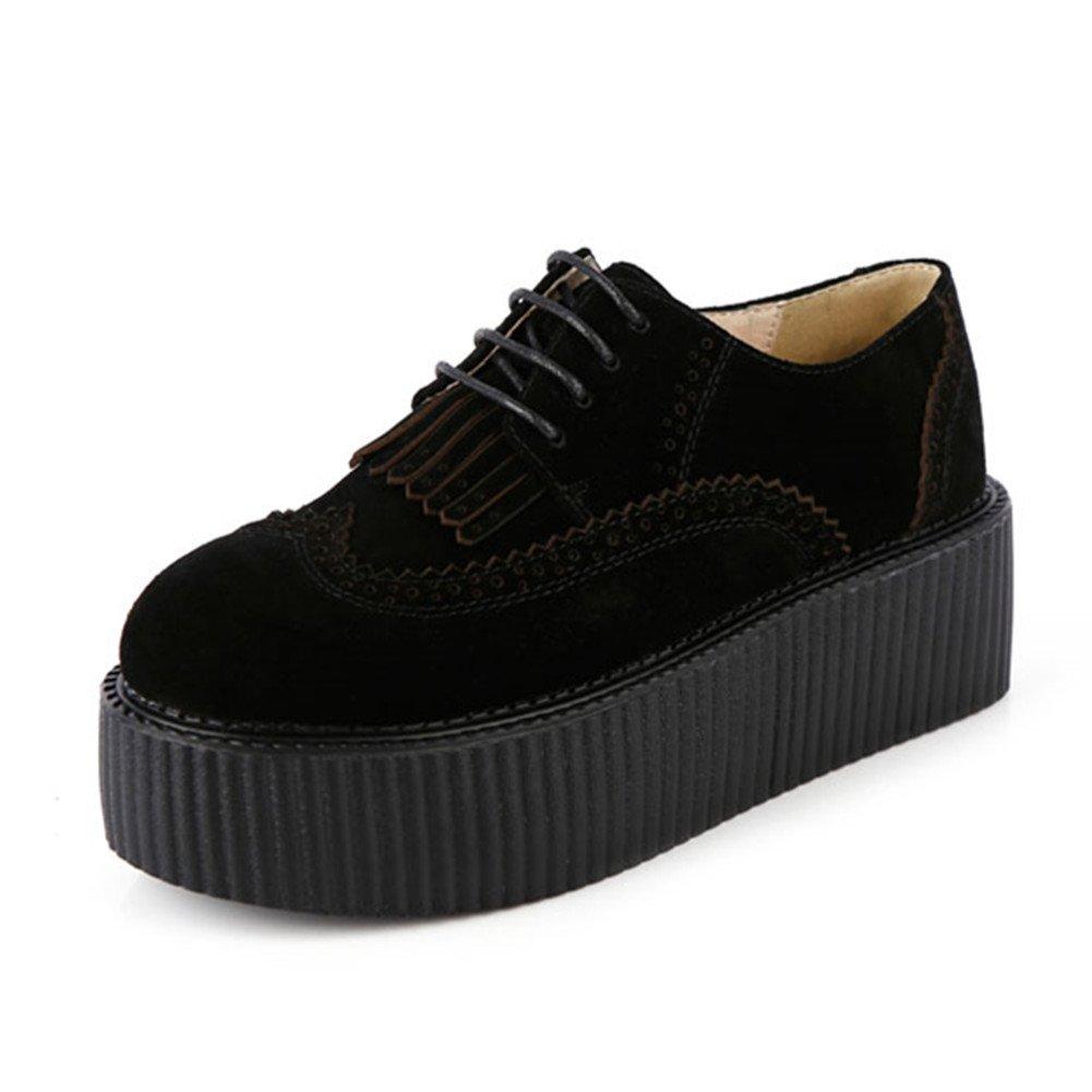RoseG - Zapatos Planos con Cordones Mujer 36