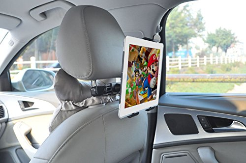 Price comparison product image JR Universal Car Mount Holder for 7-10inch Tablet PC Headrest Tablet PC Holder ipad mini1 / 2 / 3 / 4 / ipad air / ipad air2