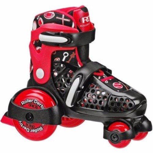 Roller Derby EZ-Roll Boy's sz 7-11 Adjustable Youth Roller Skate