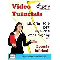 LSOIT MS Office 2010 + DTP + Tally ERP 9 + Web Designing Video Tutorials (DVD)