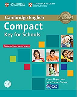 Compact Key for Schools Workbook without Answers with Audio CD: Amazon.es: Treloar, Frances: Libros en idiomas extranjeros