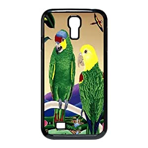 SamSung Galaxy S4 I9500 2D Custom Phone Back Case with Parrot Image