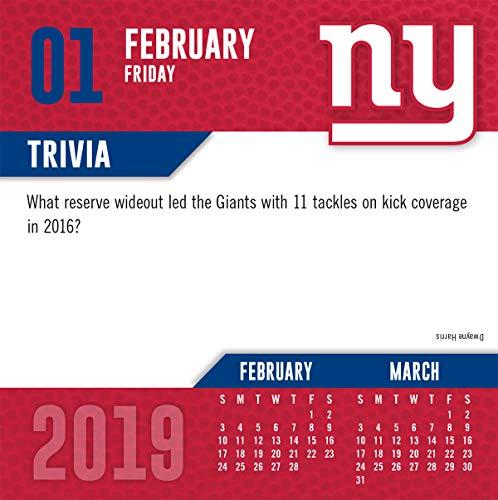2019 New York Giants Calendar New York Giants by Turner Licensing /…