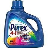 Purex Liquid Laundry Detergent Plus Clorox, Original Fresh, 128 Fl Oz