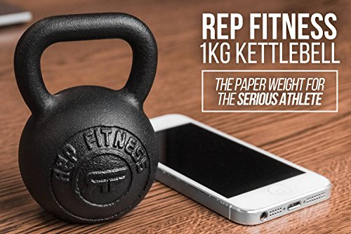 Rep 1 kg Kettlebell Paperweight or Gift Item by Rep Fitness (Image #3)