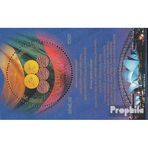 Lituanie Bloc 21 (complète.Edition.) 2000 Été (Timbres pour les collectionneurs)