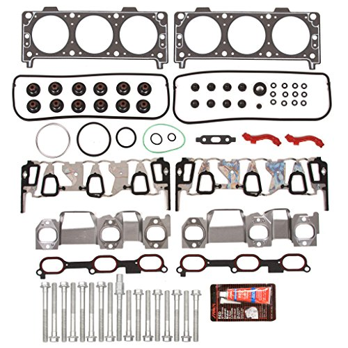 Evergreen HSHB8-10434 Cylinder Head Gasket Set Head Bolt