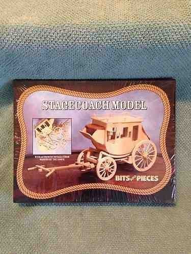Bits and Pieces STAGECOACH MODEL KIT BY