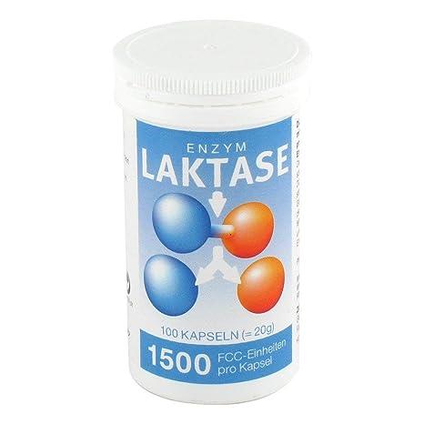 Lactasa 1.500 FCC enzima cápsulas 100 ST cápsulas: Amazon.es: Salud ...