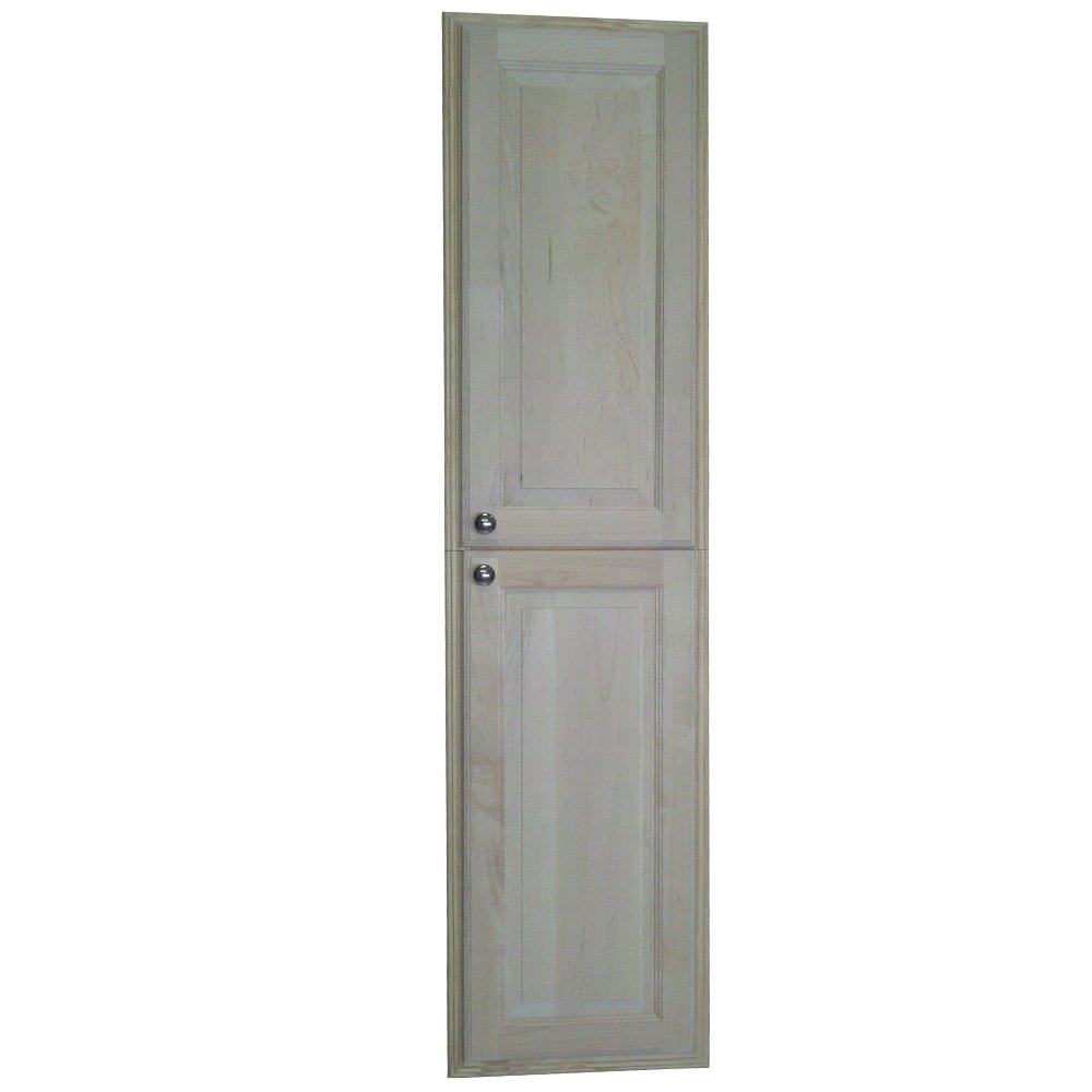 WG Wood Products Recessed Manhattan Pantry Storage Cabinet with 3.5