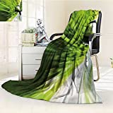 Decorative Throw Blanket Ultra-Plush Comfort side view of a luxury car driving fast on a winding road in the woods Soft, Colorful, Oversized   Home, Couch, Outdoor, Travel Use(60''x 50'')