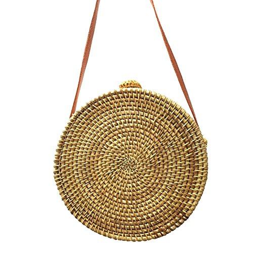 Handbag à l'épaule Sac E Circle Beach Crossbody Femme Circle à Bag F pour Broadroot Porter OtqYYw