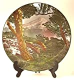 Royal Doulton Mount Egmont collector plate - D6436 - CP1003