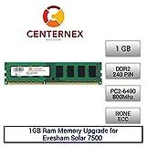 1GB RAM Memory for Evesham Solar 7500 (DDR26400 NonECC) Desktop Memory Upgrade by US Seller