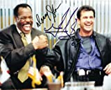 Lethal Weapon with Mel Gibson & Danny Glover Signed Autographed 8 X 10 Reprint Photo - Mint Condition