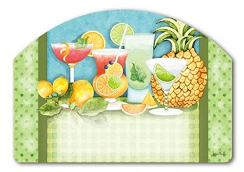 Summer Cocktails Party Drinks Magnetic Yard DeSign & Addr...