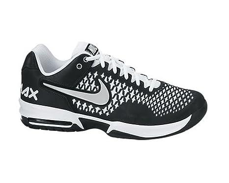Nike Hombre Air MAX Cage Zapatillas de Tenis, Hombre, Black/White/Metallic Silver: Amazon.es: Deportes y aire libre