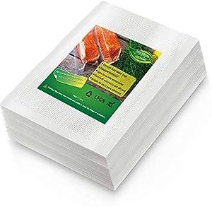 BoxLegend Sacchetti Sottovuoto Alimenti, 100 sacchetti 20x30 cm per la Conservazione Degli Alimenti e Cottura Sottovuoto… 2