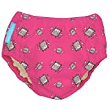 Charlie Banana Robot Girl Print Swim Diaper and
