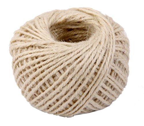 Yonger 50M Natural DIY Wrap Jute Twine Cooking String Rope
