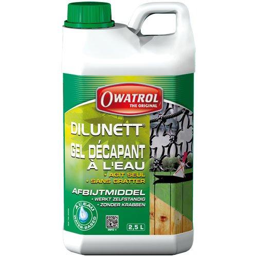 Owatrol Dilunett Décapant Gélifie à l'eau 2, 5 L 863