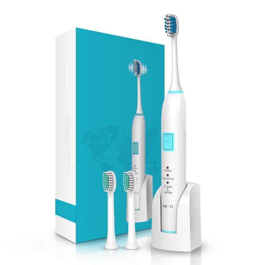 電動歯ブラシ磁気磁気浮上音波ホーム大人に適しています充電自動ホワイトニング,Blue B07FM41BVG