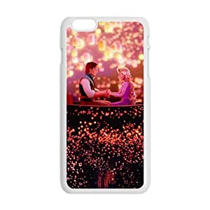 GKCB Frozen Romantic prince and princess Cell Phone Case for Iphone 6 Plus
