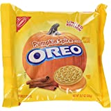 Nabisco Oreo Cookies Pumpkin Spice 10.7 Oz Limited Edition - 2 Pack