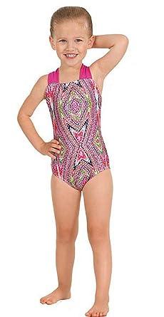 5e58e18d7 Amazon.com  Eurotard 2394 Kaleidoscope Halter Gymnastics Leotard ...