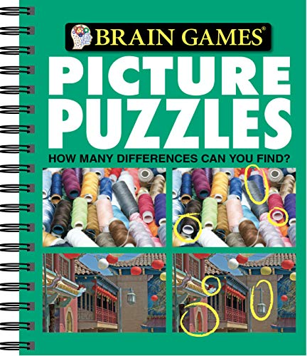 Brain Games - Picture Puzzles #2: How Many Differences Can You Find?