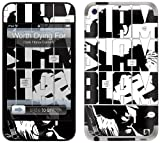 GelaSkins Protective Skin for iPod Touch 4G with Access to Matching Digital Wallpaper Downloads - Worth Dying For