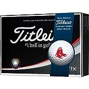 Titleist Pro V1x MLB Golf Balls | Boston Red Sox