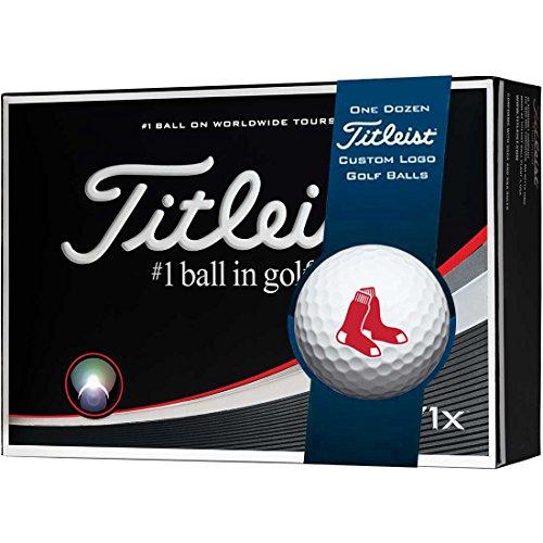 Titleist Prior Generation Pro V1x MLB Golf Balls   Boston Red Sox