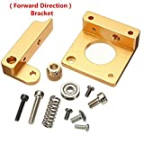 Gaoxing Tech. All Metal Right Hand MK8 Extruder Aluminum Frame Block DIY Kit for Reprap i3 3D Print