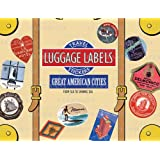 Great American Cities Luggage Labels (Travel Stickers)