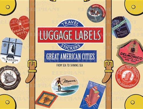 Great American Cities Luggage Labels (Travel Stickers) ()