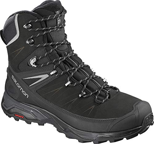 SALOMON X Ultra Winter CS WP 2 Boots Black/Phantom/Monument Mens Sz 11.5