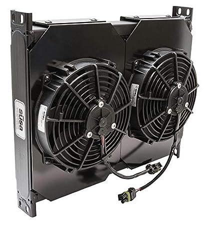 Includes 12 Volt Fan Setrab FP634M22I ProLine/6-Series 34 Row Fanpack