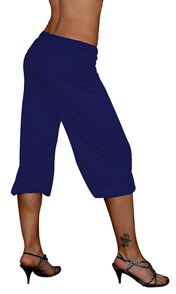 S& LU tolle kurze Damen Haremshose, Pluderhose in 4 Größen von XXS bis XXXXXXL (6XL) wählbar